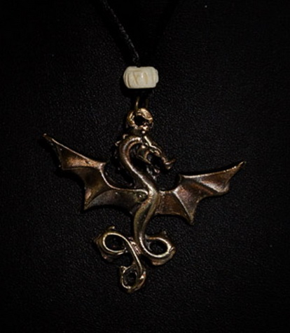 192 Littlest Dragon Pendant