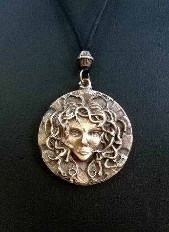 204 Medusa Pendant