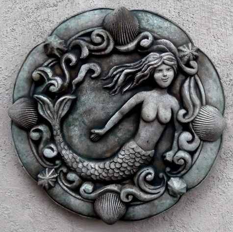115 Mermaid Plaque