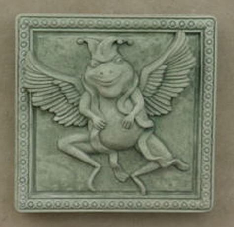 116 Scarf (Flying Frog Plaque)