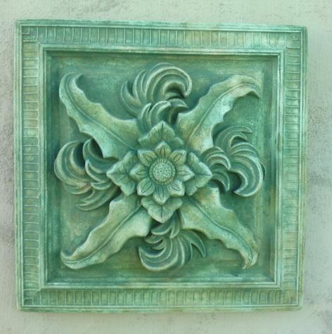 151 Square Floral Paterae 1