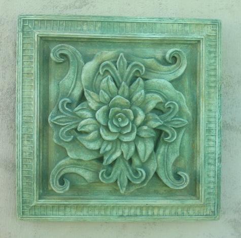 150 Square Floral Paterae 2