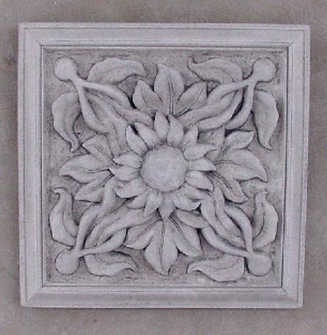 147 Square Floral Paterae 5