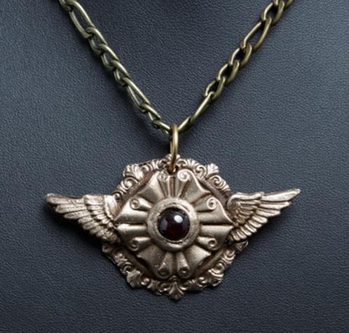 210 Steampunk Pendant